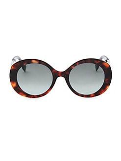 efce63d0e6 Fendi. 52MM Round Sunglasses