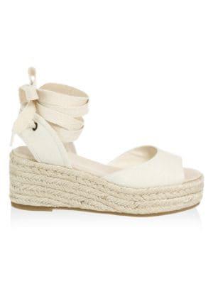 Espadrille Platform Sandal, Blush