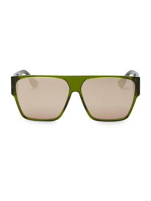62 Mm Diorhit Flat Top Sunglasses by Dior