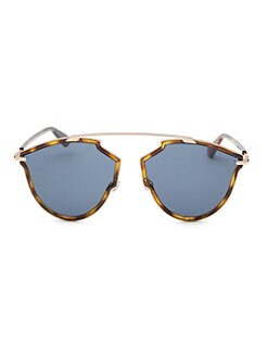 4d2343f5371 48MM Tortoise Aviator Sunglasses PINK GOLD. QUICK VIEW. Product image