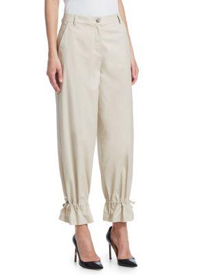 EMPORIO ARMANI Pants Fluid Drawstring Pants