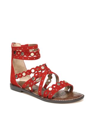 Geren Suede Gladiator Sandals by Sam Edelman