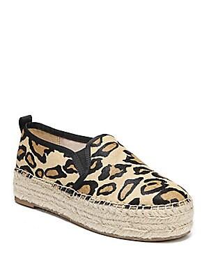 abc767832d5e Sam Edelman - Carrin Leopard Print Calf Hair Espadrilles - saks.com