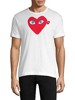 e3f32b08a2d7 Comme des Garcons Play - Red Heart Tee - saks.com