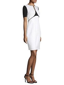 573b11366bfbe Elie Tahari. Nixie Stargazer Colorblock Sheath Dress