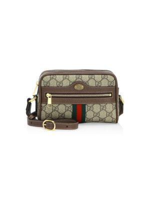 9a3a9919e6729 Gucci - Mini Ophidia GG Supreme Canvas Crossbody Bag - saks.com