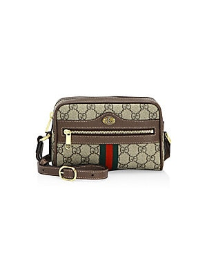 03918356c5d Gucci - Mini Ophidia GG Supreme Canvas Crossbody Bag - saks.com