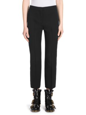 Alexander Mcqueen  STRIPED CIGARETTE PANTS