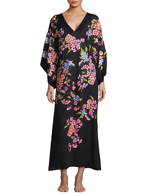 Hanami Silk Kimono