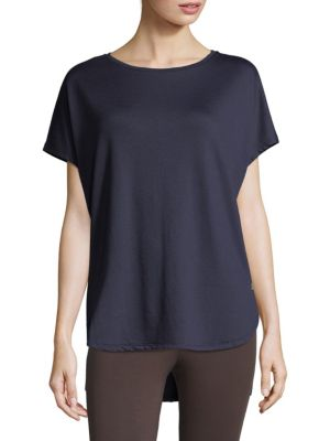 Natori  Zen Terry Short Sleeve Top