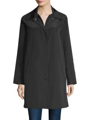 Mock Double Raincoat by Jane Post