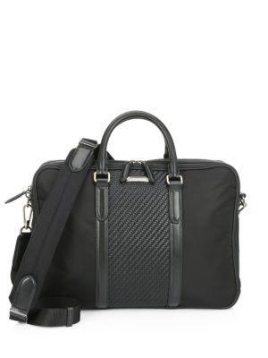 46cfff5b60 COACH - 1941 Rogue Leather Briefcase - saks.com