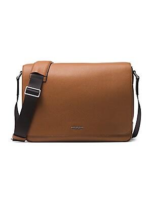 5b88a59f854f COACH - Metropolitan Pebbled Leather Messenger Bag - saks.com