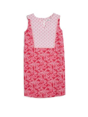 Toddlers Little Girls  Girls Flamingo Print Shift Dress