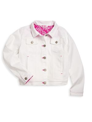 Toddlers Little Girls  Girls Buttoned Denim Jacket