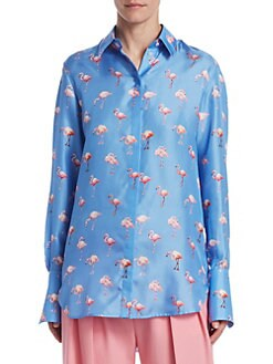 Women's Collard Shirts & Button Downs | Saks.com