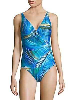 74db280d177b4 Gottex Swim - One-Piece Two-Toned Swimsuit - saks.com