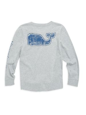 Toddlers Little Boys  Boys LongSleeve Vintage Whale Sweatshirt
