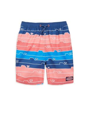 Toddlers Little Boys  Boys Whale Line Chappy Trunks