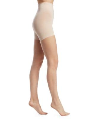 The Nudes Whisper Weight Control Top Pantyhose, Tone A01