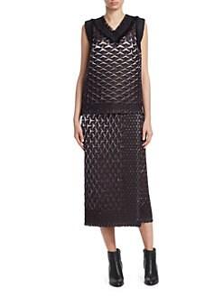 Black designer dresses at saks