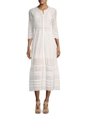 Sevi Lace Midi Dress by Sea