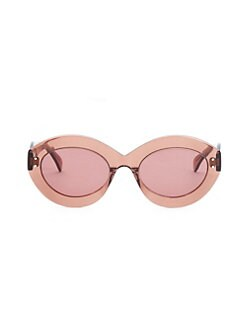 4ae69c3c6ef QUICK VIEW. Alaïa. Enhanced Femininity Nude Oval Sunglasses