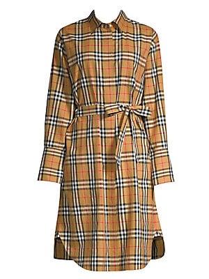62a17a181977 Burberry - Isotto Long Shirt Dress - saks.com