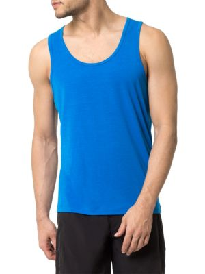 MPG Spark Knit Tank Top in Blue