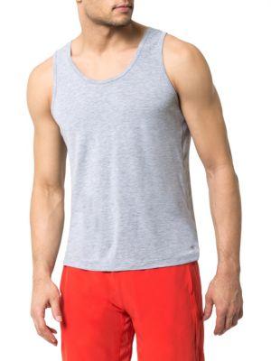 MPG Spark Knit Tank Top in Grey