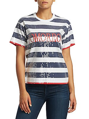 d26432c4 Alberta Ferretti - Striped Button-Down Shirt - saks.com