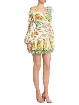 Golden Surfer Mini Dress by Zimmermann