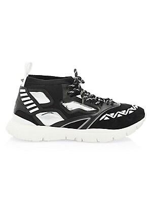 eb228b5fdb830 Valentino Garavani - Rockstud Leather Boots - saks.com