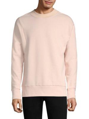 TWENTY TEES Crewneck Sweater in Roseate