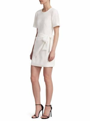 Bia Tie Waist Dress, Ivory
