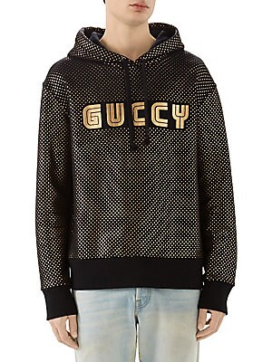 1f836775f1d Gucci - SEGA Logo Felted Hoodie - saks.com