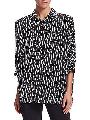 Cotton Shirt T Givenchy Destroyed Logo xYSEOwqE0v
