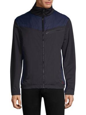 STRELLSON Josh Track Jacket in Black