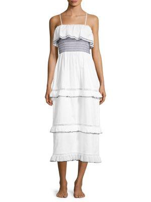 Kisuii Tal Smocked Dress
