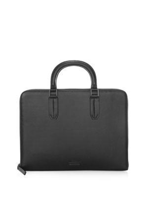 Uri Minkoff  Carlson Leather Briefcase