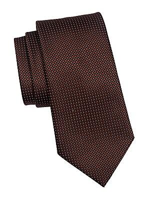 194e0be2 Ermenegildo Zegna - Silk Box Dot Tie