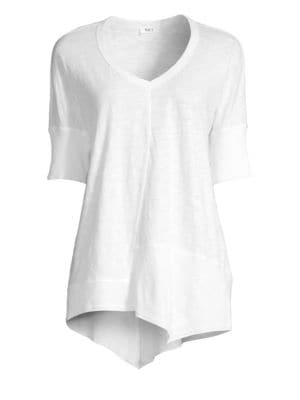 Wilt Asymmetric Cotton Tee
