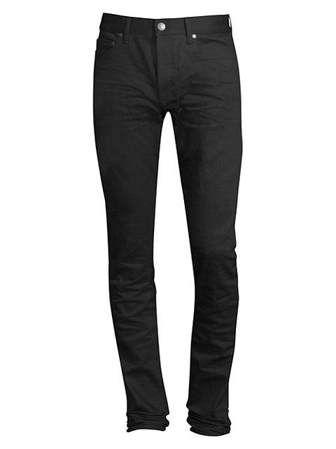 Cast 2 Obsidion Slim-Fit Raw Jeans
