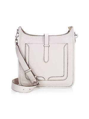 Rebeca Minkoff Feed Leather Crossbody, Putty