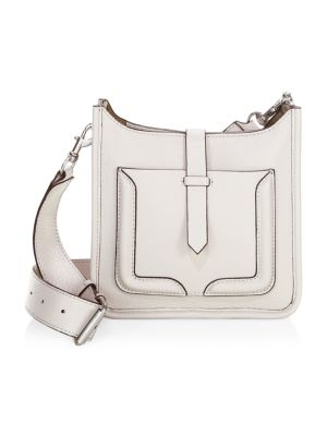 Mini Unlined Feed Crossbody Bag, Putty