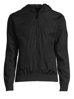 Windbridge Regular Fit Hooded Sweater Jacket, Iron Grey