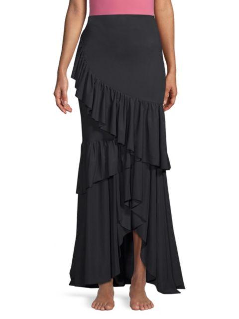 Chiara Boni La Petite Robe Leonarda Tiered Ruffle Maxi Dress | SaksFifthAvenue