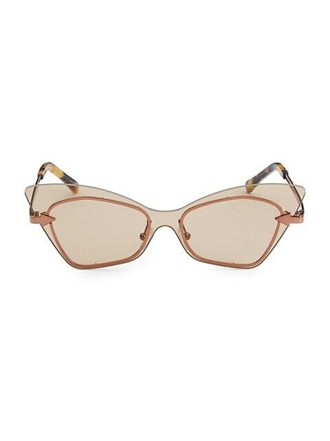 53MM Mrs Brill Cat-Eye Sunglasses
