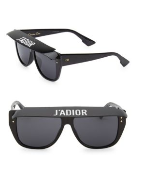 d44255a39b Shop Dior Club2 56Mm Square Sunglasses In Black
