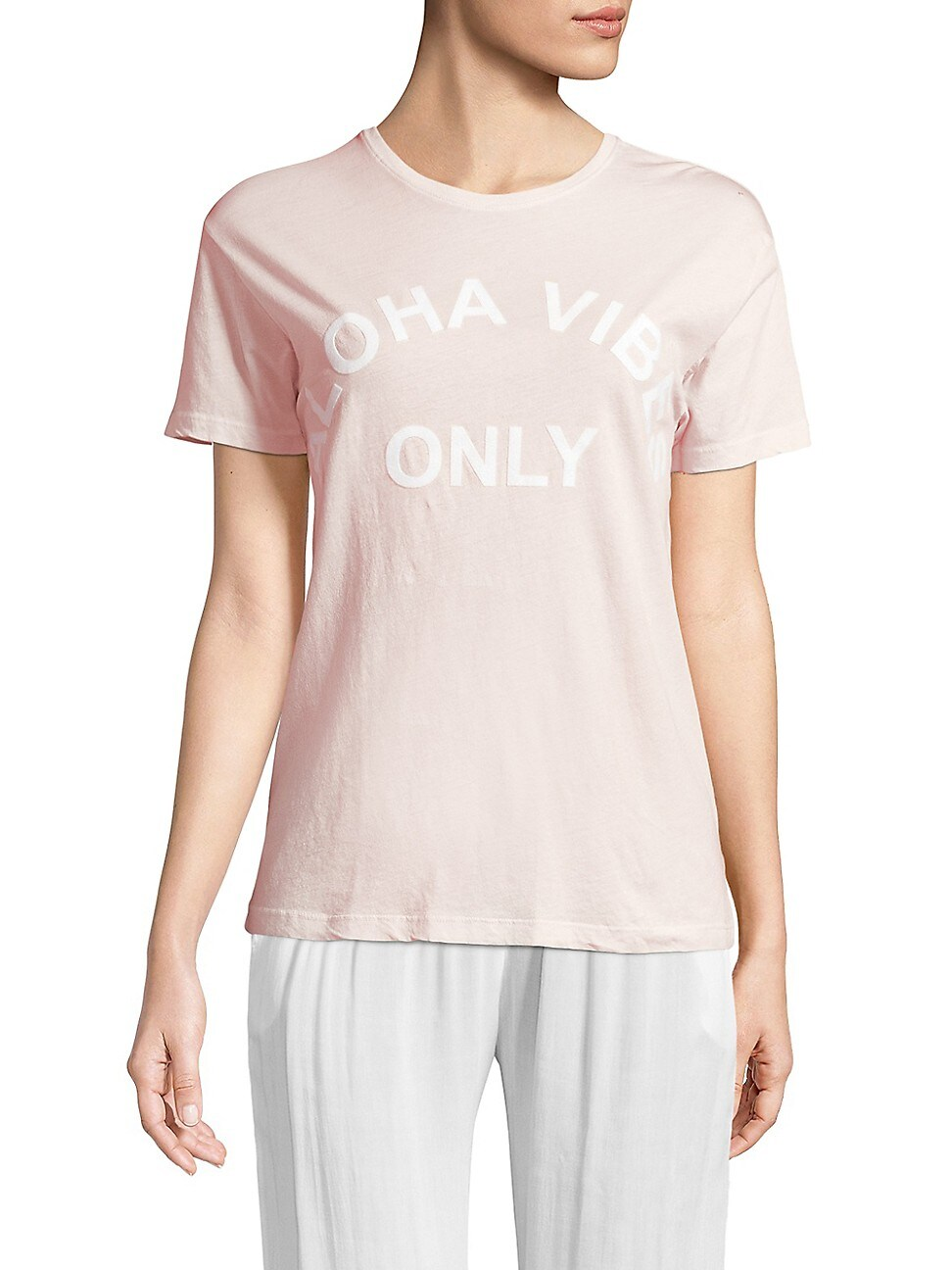 Mikoh WOMEN'S ALOHA VIBES ONLY TEE